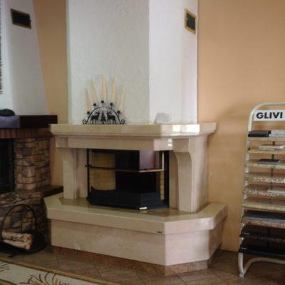 Мраморный камин Клеопатра