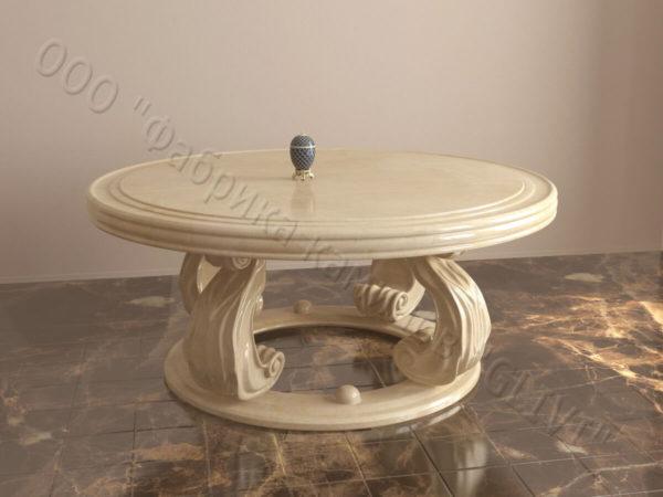 Стол со столешницей из Мрамора Клот, фото товара