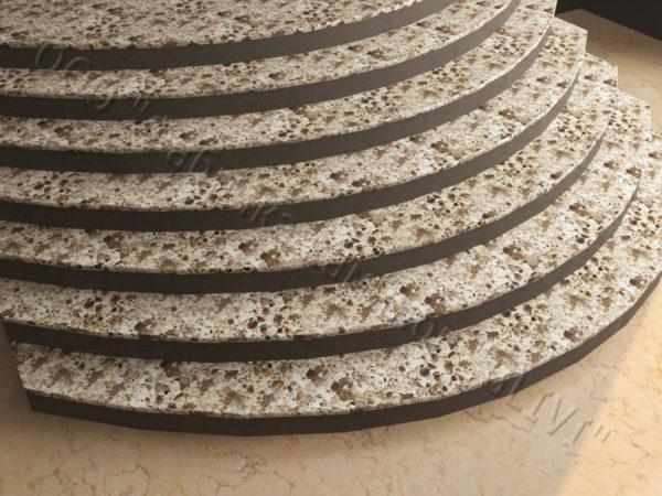 Ступени из искусственного камня (кварца) Итэна, фото 3