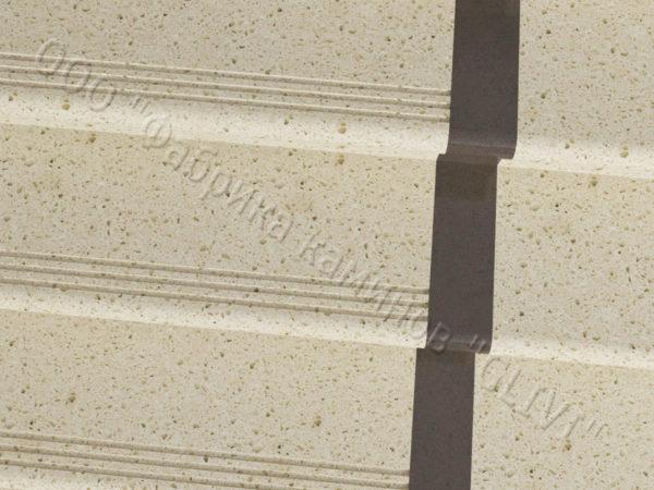 Ступени из искусственного камня (кварца) Лина, фото 3