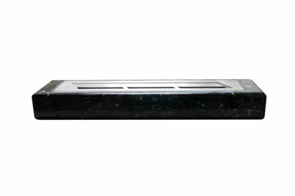 Мраморная облицовка (каминный портал) для камина на биотопливе Марон, изображение, фото 6