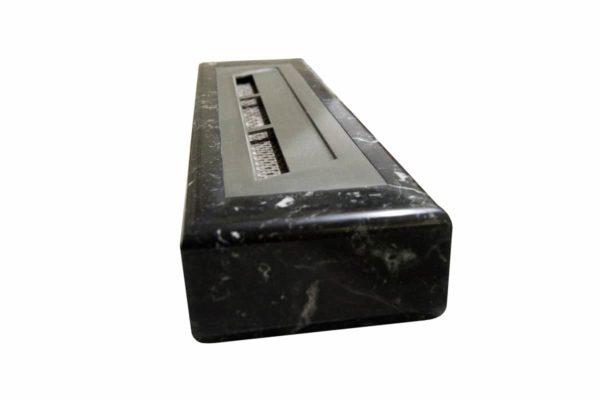 Мраморная облицовка (каминный портал) для камина на биотопливе Марон, изображение, фото 8