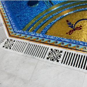 Мозаичный пол из натурального мрамора Асия, интернет-магазин полов, изображение, фото 1