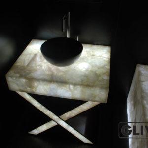 Мраморная раковина (умывальник) Аделфи, каталог раковин из камня, изображение, фото 1