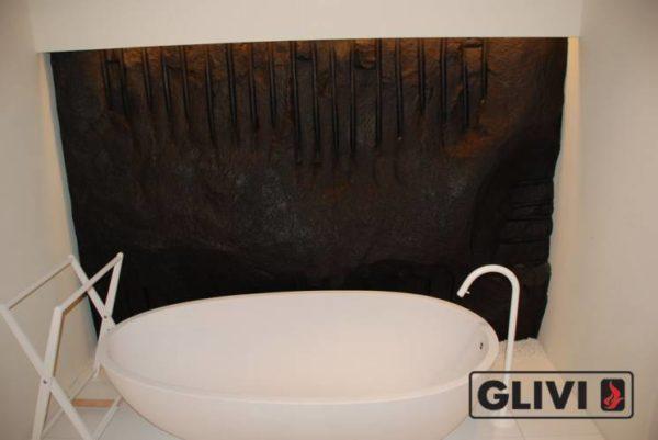 Ванная (пристанная или отдельностоящая) из натурального мрамора Аделина, изображение, фото 1
