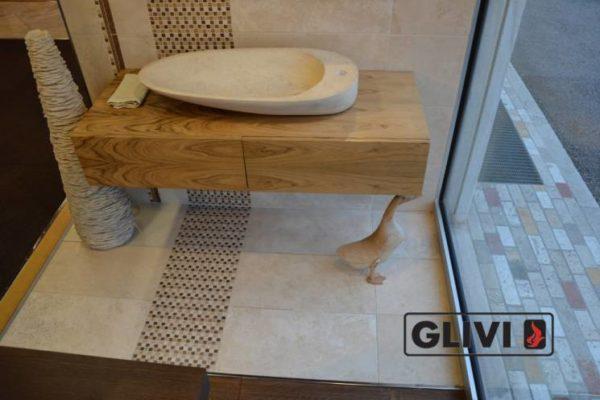 Мраморная раковина (умывальник) Афина, каталог раковин из камня, изображение, фото 2