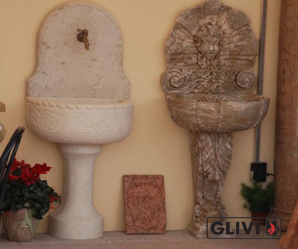 Мраморная раковина (умывальник) Агейп, каталог раковин из камня, изображение, фото 1