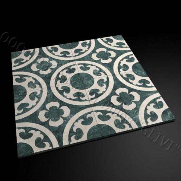Плитка из натурального мрамора Ажра, изображение, фото 3