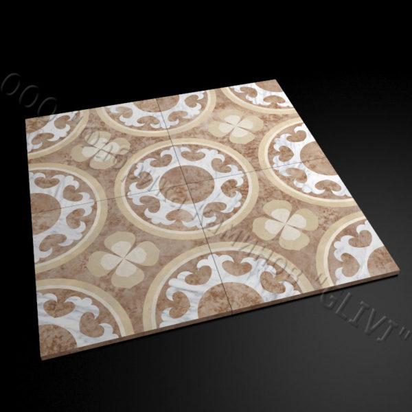 Плитка из натурального мрамора Ажра, изображение, фото 1