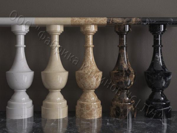 Балясины для балюстрад из мрамора Алем, изображение, фото 1