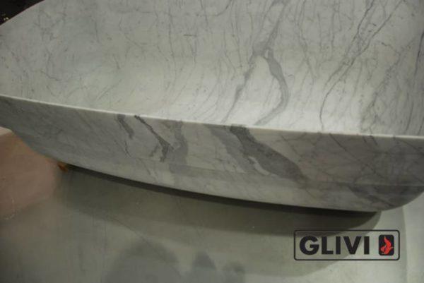 Ванная (пристанная или отдельностоящая) из натурального мрамора Алита, изображение, фото 4