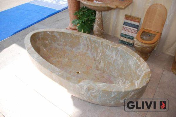 Мраморная ванна Алмира
