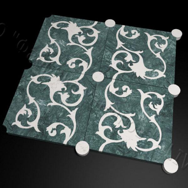 Плитка из натурального мрамора Анжу, изображение, фото 2