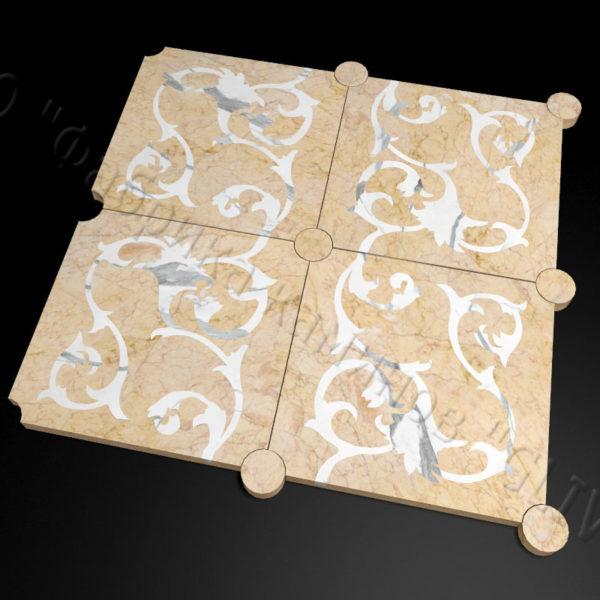 Плитка из натурального мрамора Анжу, изображение, фото 3