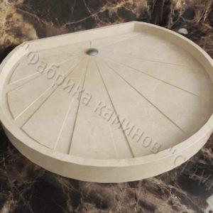 Поддон для душа Арнел мраморный, каталог душевых поддонов из камня, изображение, фото 1