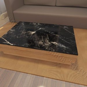 Накрывная столешница из натурального камня (мрамора) Астранция, изготовить на заказ, изображение, фото 1