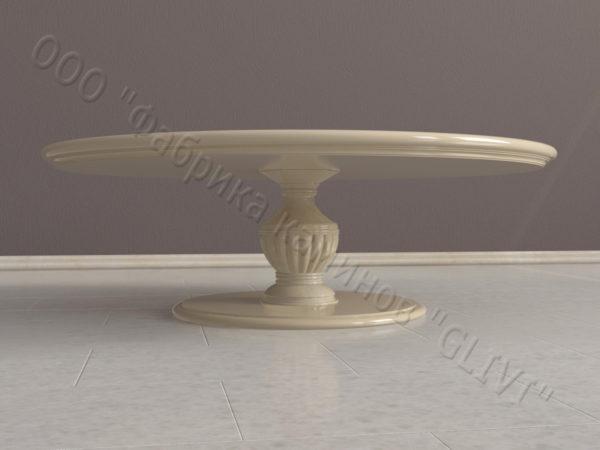 Стол из натурального камня (мрамора) Авро, интернет-магазин столов, изображение, фото 2