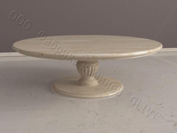 Стол из натурального камня (мрамора) Авро, интернет-магазин столов, изображение, фото 5
