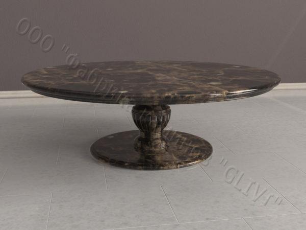 Стол из натурального камня (мрамора) Авро, интернет-магазин столов, изображение, фото 6