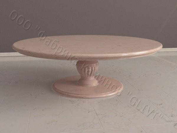 Стол из натурального камня (мрамора) Авро, интернет-магазин столов, изображение, фото 7