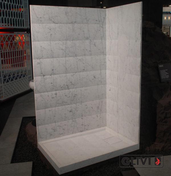 Поддон для душа Бадан мраморный, каталог душевых поддонов из камня, изображение, фото 1