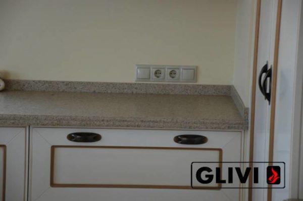 Столешница из искусственного (кварцевого) камня Бангор, изготовить на заказ, изображение, фото 4