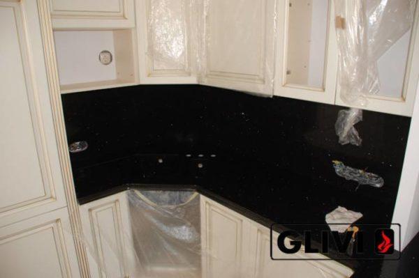 Столешница из искусственного (кварцевого) камня Блэк, изготовить на заказ, изображение, фото 2