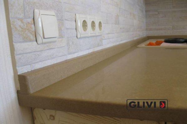 Столешница из искусственного (кварцевого) камня Босфор, изготовить на заказ, изображение, фото 2