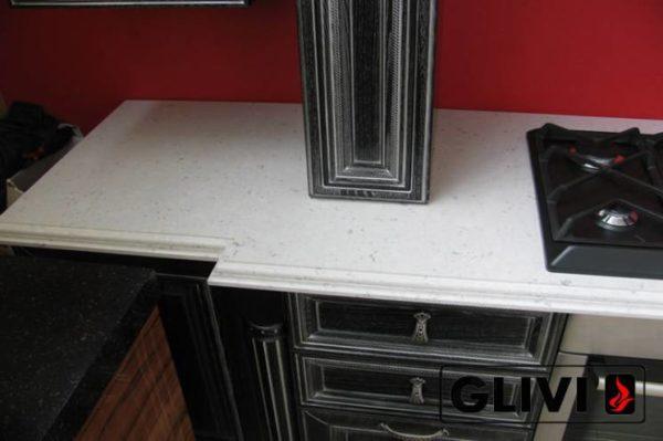 Столешница из искусственного (кварцевого) камня Бристоль, изготовить на заказ, изображение, фото 1