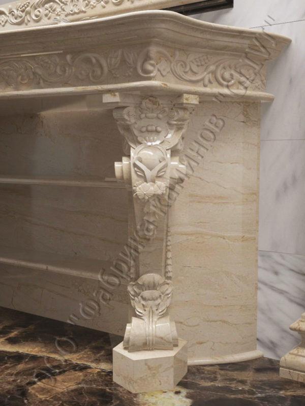 раморная раковина (умывальник) Брун, каталог раковин из камня, изображение, фото 5