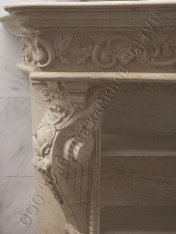 раморная раковина (умывальник) Брун, каталог раковин из камня, изображение, фото 7