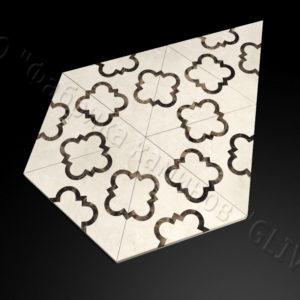 Плитка из натурального мрамора Бруния, изображение, фото 1