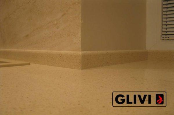Столешница из искусственного (кварцевого) камня Брайтон, изготовить на заказ, изображение, фото 3