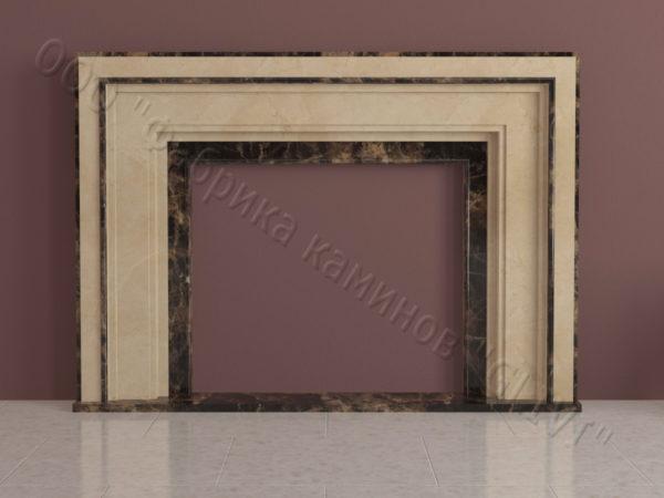 Имитация камина (фальш камин) из камня Кауд, каталог каминов, изображение, фото 4