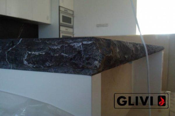Столешница из натурального камня (мрамора) Честер, изготовить на заказ, изображение, фото 3
