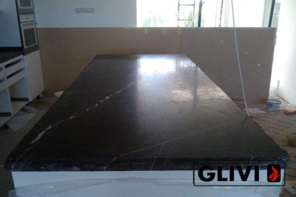 Столешница из натурального камня (мрамора) Честер, изготовить на заказ, изображение, фото 4