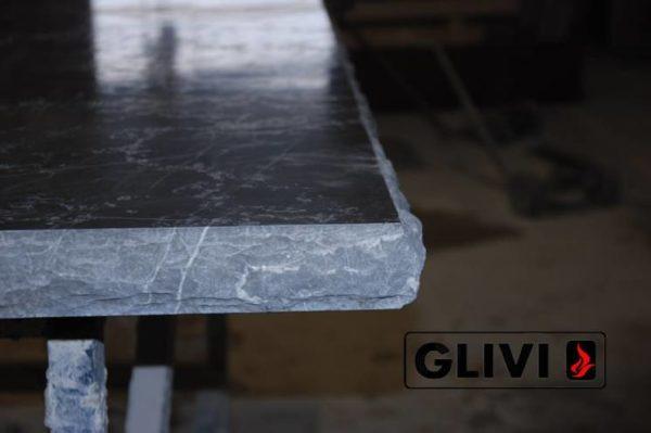 Столешница из натурального камня (мрамора) Честер, изготовить на заказ, изображение, фото 7