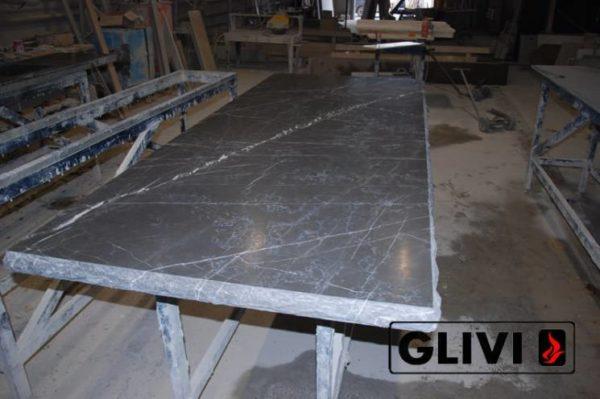 Столешница из натурального камня (мрамора) Честер, изготовить на заказ, изображение, фото 8