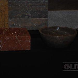 Мраморная раковина (умывальник) Дайон, каталог раковин из камня, изображение, фото 1