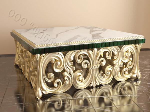 Стол из натурального камня (мрамора) Диана, интернет-магазин столов, изображение, фото 4