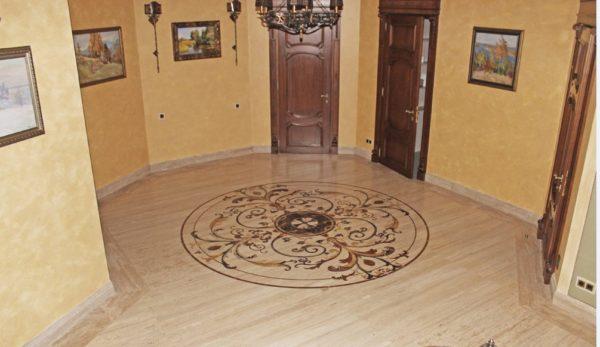 Мозаичный пол из натурального мрамора Диона, интернет-магазин полов, изображение, фото 2