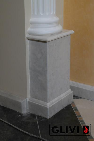 Входная группа (портал) из натурального камня (мрамора) Дионис изображение, фото 3