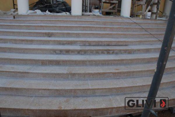 Лестничные ступени из натурального камня (гранита) Флор, фото 4
