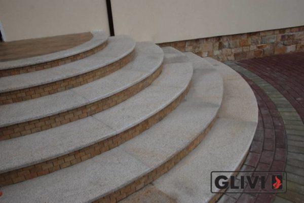 Лестничные ступени из натурального камня (гранита) Флор, фото 2