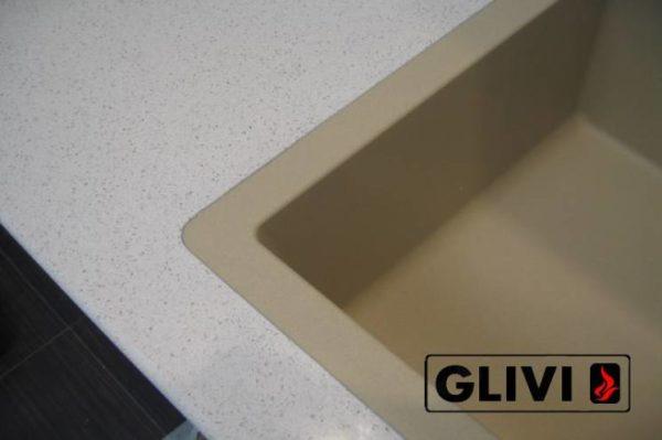 Столешница из искусственного (кварцевого) камня Дувр, изготовить на заказ, изображение, фото 4