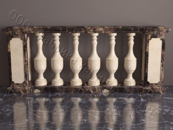Балюстрада из камня (мрамора) Эйла, интернет-магазин (каталог) изделий из камня, изображение, фото 1