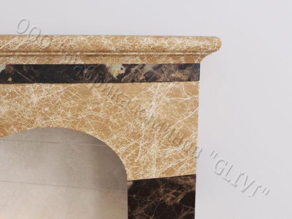 Напольный каминный портал (облицовка) для биокамина Эола, каталог (интернет-магазин) каминов, изображение, фото 2