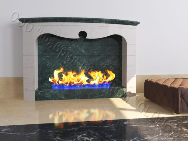 Напольный каминный портал (облицовка) для биокамина Эола, каталог (интернет-магазин) каминов, изображение, фото 6