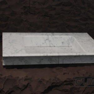 Мраморная мойка Филлис, каталог раковин из камня, изображение, фото 1