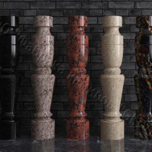 Балясины для балюстрад из гранита Гарви, изображение, фото 1
